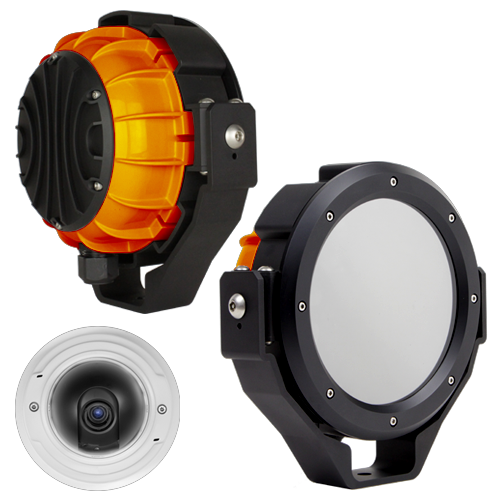 Wide Angle Construction Cameras