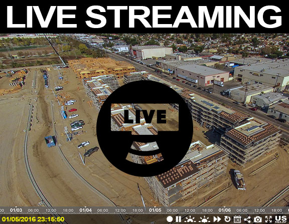 us relay construction cameras live services highlight new live streaming