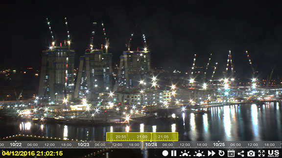 us relay construction cameras jobsite security and online recording night screen shot 01
